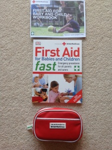 You can purchase the manual and little kit from the Red Cross
