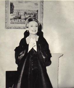 The lady herself, Genevieve Antoine Dariaux