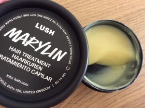 A lovely Lush hair mask!